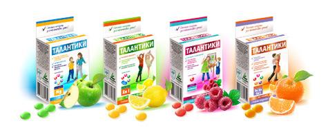 Витаминно-минеральные комплексы для детей